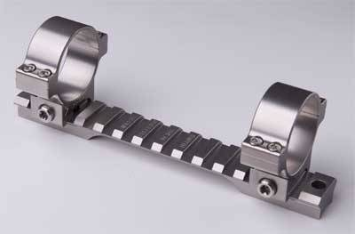 Stainless Steel and Titanium Scope Mounts